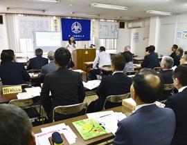伊勢崎市倫理法人会・モーニングセミナー